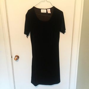 Vintage Velvet Dress
